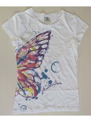Amsterdam Butterfly-T-Shirt For Girls