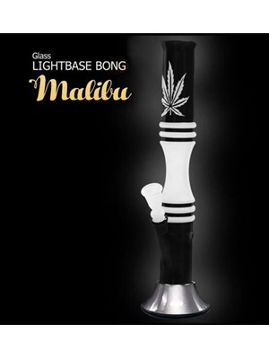 Malibu Lightbase Glass Bong